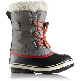 Sorel Yoot Pac Nylon Bottes Enfant, quarry/sail red
